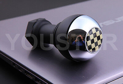 US Seller HEAVY Weighted Short Shifter Gear Knob for BMW 5 /& 6 Speed MT CHROME