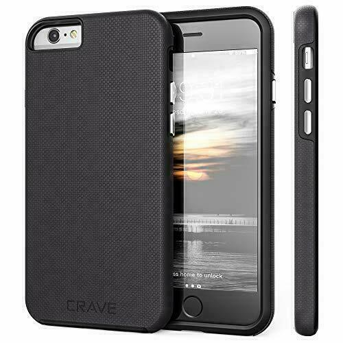 Iphone 6s Case 6 Crave Slim Guard Protection Series Case Black For Sale Online Ebay