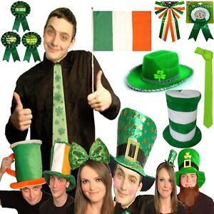 New Fancy Dress Party ST PATRICK S Day IRISH Themed Novelty Shamrock ... b978c169b8da