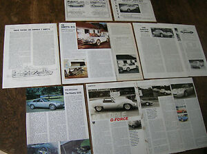 Ginetta Articles Tests G4 G15 G21s F3 Car Ginetta History 1961
