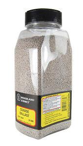 B1388 Woodland Scenics Light Grey Coarse Ballast Shaker 57.7 in³ (945 cm³) TMC