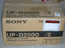 Sony UP-D2500 Photo Dye sublimation retransfer Printer UP-D2500/2 UP-D2500/20