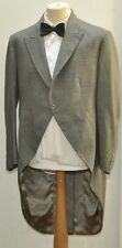 VINTAGE MOSS BROSS COVENT GARDEN TWIll WOOL FROCK COAT SIZE 44 1960s