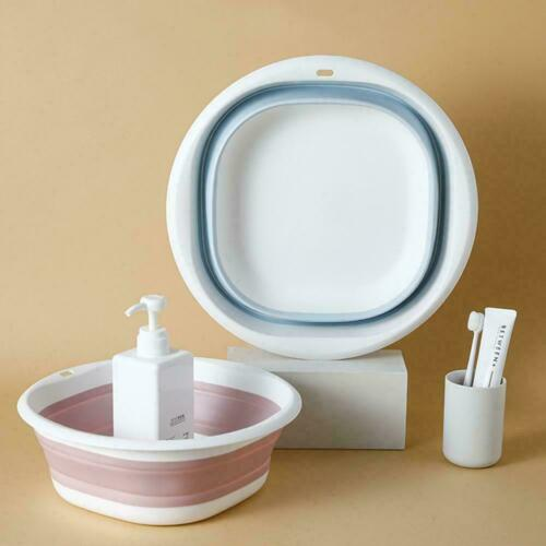 Details about  /Collapsible Portable Camping Foot Wash Basin Wash Basin Folding Q0X4