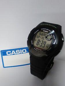 a5e72e6e37a5 La imagen se está cargando Reloj-Casio-ORIGINAL-Unisex-F-200W-1ADF-digital-