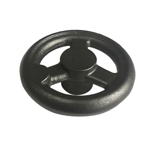 "Three Spoked Cast Iron Handwheel without Handle 6/"" Diameter"