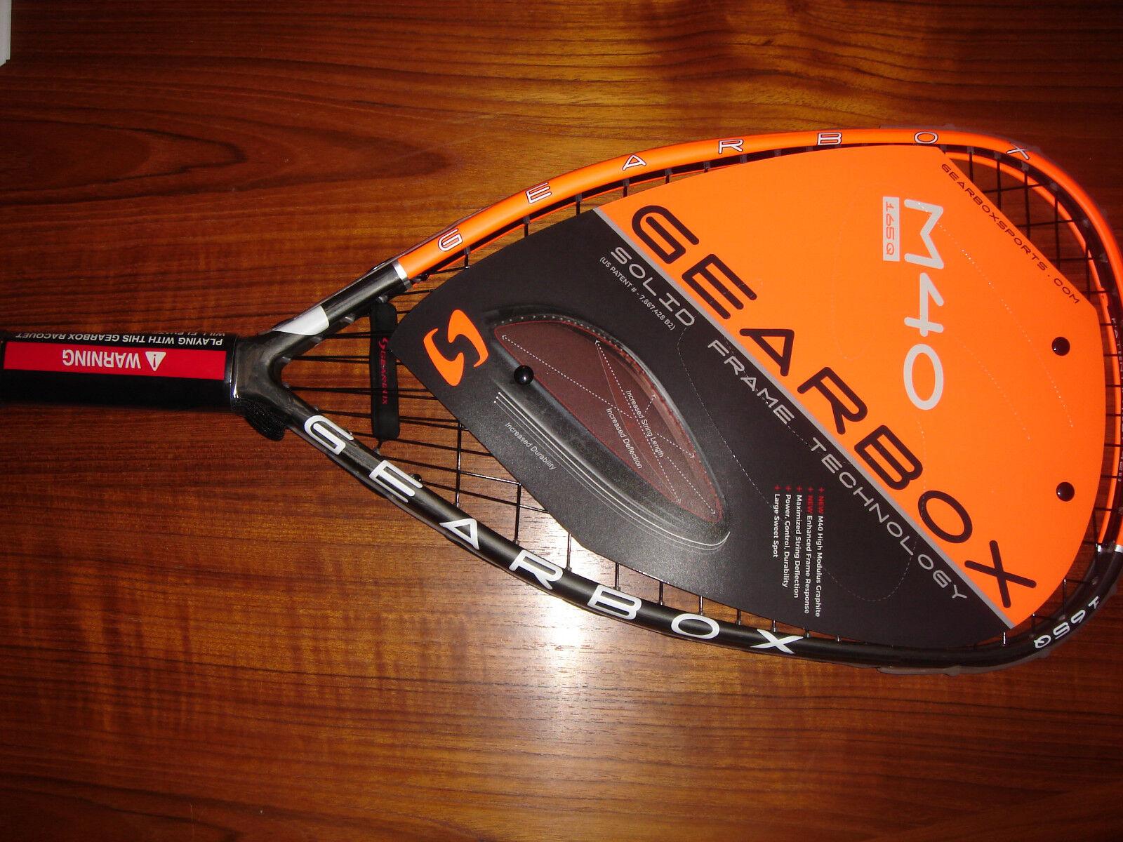 Caja de cambios de 165Q M40 2019 2019 2019 nuevo Racquetball Racquet + Gratis bolas 7ccbf0