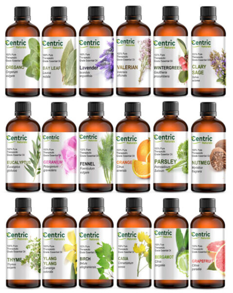 4 oz Essential Oils Pure Natural Therapeutic Grade Start @ $9.95 FREE SHIPPING