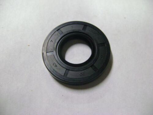 DUST SEAL 20mm X 43mm X 7mm NEW TC 20X43X7 DOUBLE LIPS METRIC OIL