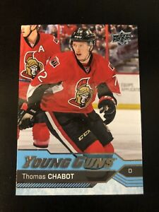 2016-2017-16-17-UD-Upper-deck-Young-Guns-Rookie-RC-Thomas-Chabot