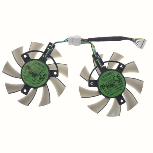 T128015BU ASUS GTX 1660 1660Ti TUF GAMING OC RTX2060 Graphics Carrd Cooling Fan