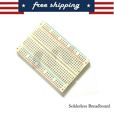 2 xsteckbrett Socket Board Breadboard 400 Contacts 20 XJUMPER Wire Cable