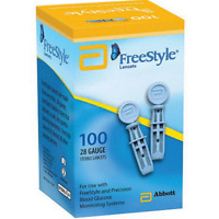 Freestyle Sterile Lancets - 100 Bx