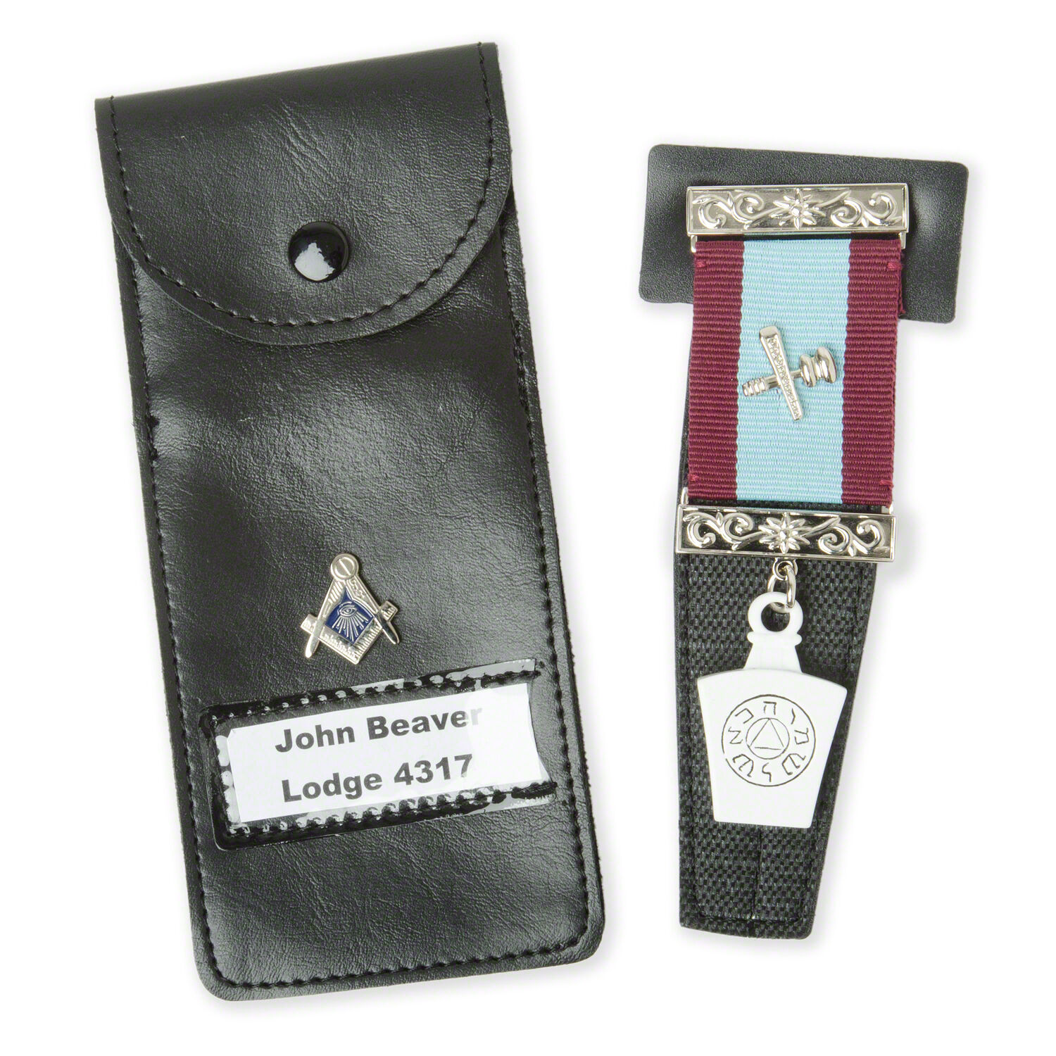 release date: 660bf 82a5d Details about NEW Masonic Jewel Holder Case Craft, Mark. RA, Knights, Malta