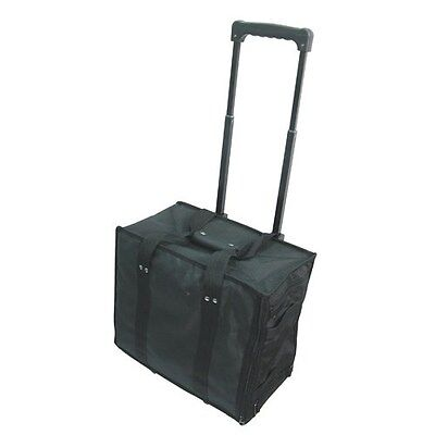 """Aluminum Rolling Travel Jewelry Sales Case  15 1//2/""""  With 12 Trays"""