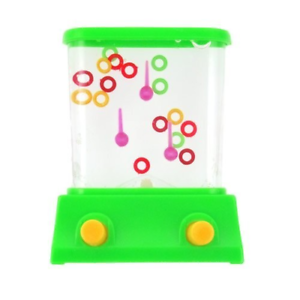 Handheld Classic Water Game Rings Waterful Ring Toss Kids Children Gift Toy