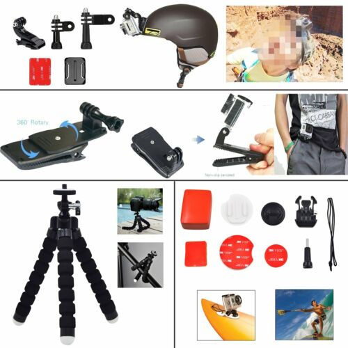 For GoPro 6 5 4 Action Sports Video Cam Kit GOPRO HERO Camera Accessories Black