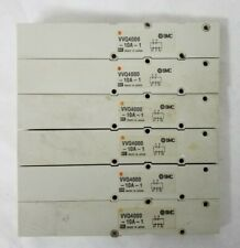 Smc Vvq4000 10a 1 Blank Plate For Pneumatic Control Valve Lot Of 6