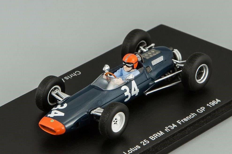 gran descuento Lotus 25 BRM  34 Francés Francés Francés Grand Prix 1964 Amon Spark S1613 1 43  el precio más bajo