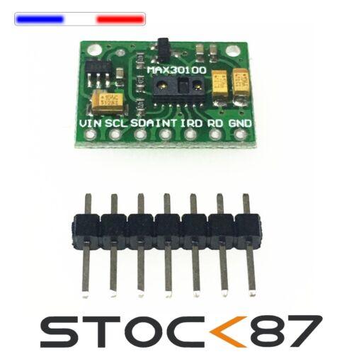 5345# MAX30100 Module de Capteur de Fréquence Cardiaque-Heart Rate module sensor