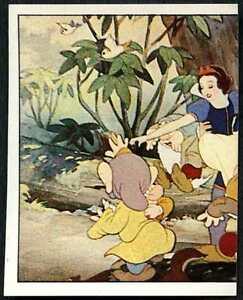 2 of 4 #222 Snow White /& The Seven Dwarfs 1987 Panini Disney Sticker C1390