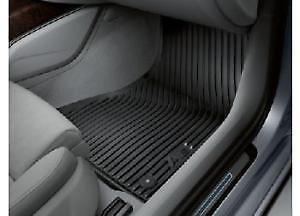 Genuine Audi A6 C7 4G 2011-frente De Goma Tapetes 4G2061501041
