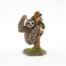 Miniature FAIRY GARDEN Figurine ~ Mini Sloth on Tree ~ NEW