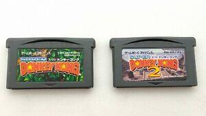 Super-Donkey-Kong-2-set-Game-Boy-Advance-GBA-by-Rare