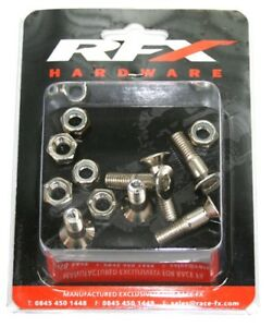 YZ YZF CR CRF KXF KX RM RMZ SX SXF New m8 x 30mm rear sprocket bolt set X81020