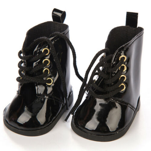 1 Pair doll shoes for 18 inch doll 43cm dolls party daily shoes accessories X FD