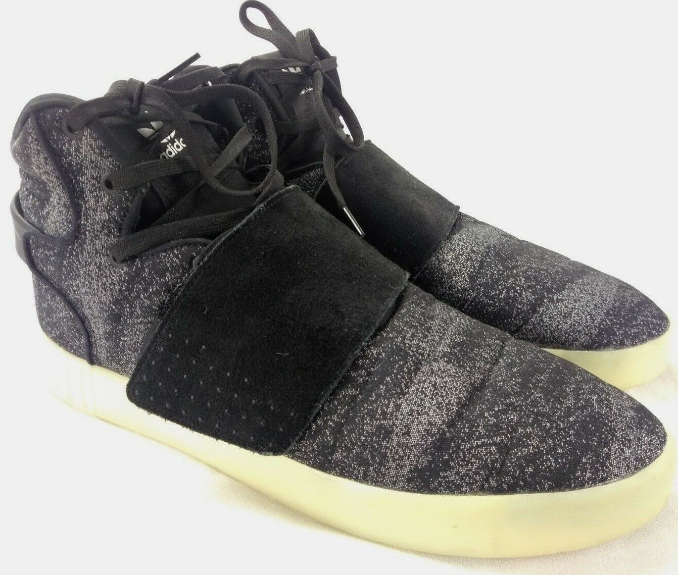 Adidas Tubular Invader Strap BB8945 Men Sz 12 High Top Basketball shoes 202-10
