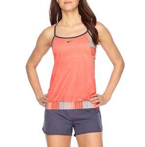 dc4df588ddd87 Nike Blouson Swimsuit Top Size L, XL Msrp New Crimson Pulse   eBay