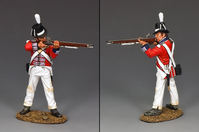 KING AND COUNTRY Napoleonic - Royal Marine Standing Firing NA265