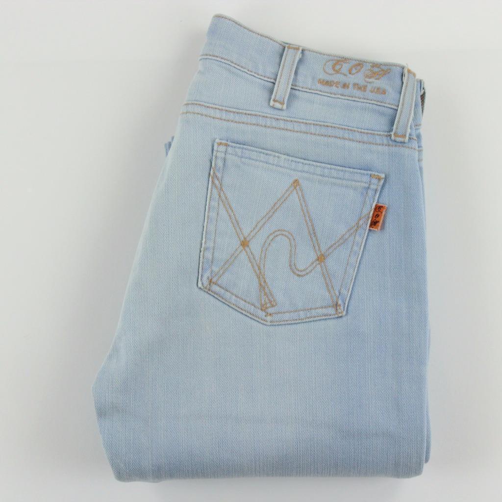 COH Citizen Of Humanity Jeans Women Low Rise Boot Cut Size 25