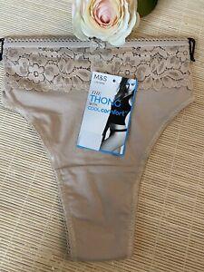 Marks /& Spencer Ladies Womens Underwear Knickers Pants Nude