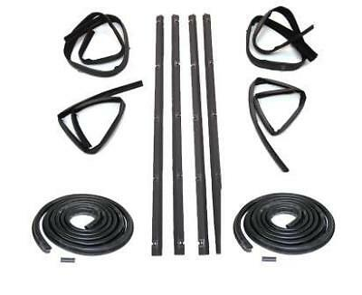 1982-94 Chevrolet S10 Blazer Belt Weatherstrip Kit Outer DS /& PS