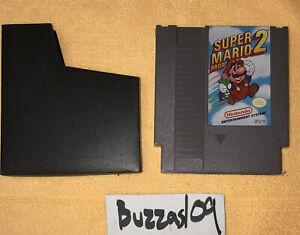 *Super Mario Bros II 2* Nintendo Entertainment System NES CARTRIDGE + DUST COVER