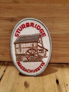 Old-Sturbridge-Village-Massachusetts-MA-Barn-Logo-Souvenir-3-7-8-Tall-Patch