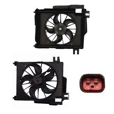 Electric A//C Condenser Fan Assembly Fits 2009-2013 Dodge Ram 1500 4.7L /& 5.7L