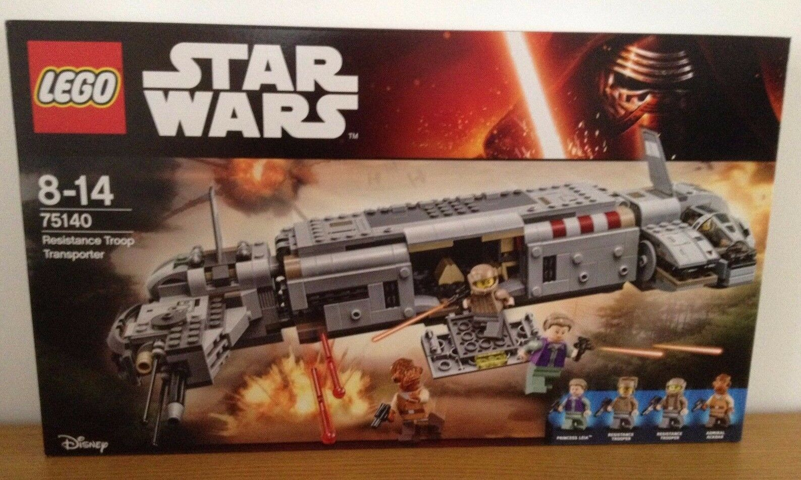 LEGO Star Wars Resistance Troop Transporter (75140) New Sealed
