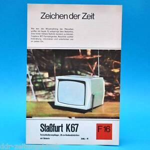 Fernsehkofferempfaenger-Stassfurt-K67-DDR-1968-Prospekt-Werbung-DEWAG-F16-K