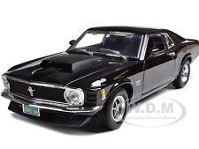 1970 MUSTANG BOSS 429 BLACK 1:18 DIECAST MODEL CAR BY MOTORMAX 73154
