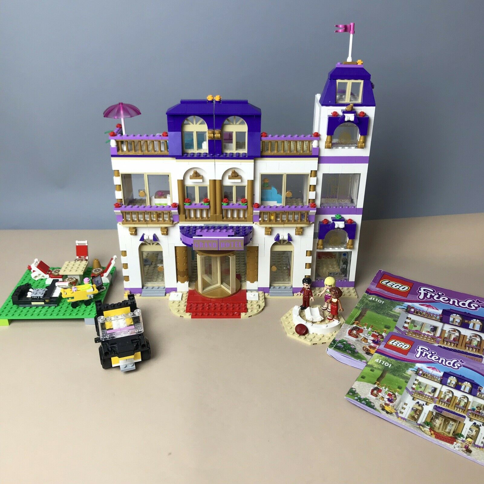 LEGO Friends Grand Hotel Rare Retired 41101 Set