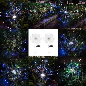 Energia-Solar-105LED-Starburst-avanza-Cadena-de-luz-de-hadas-Navidad-Decoracion-Lampara