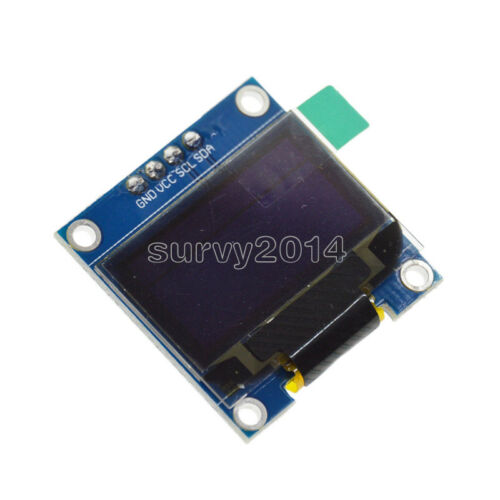 "0.96/"" Yellow Blue White 128X64 OLED I2C IIC Serial LCD LED SSD Display New"