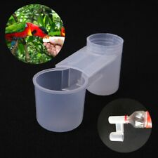Plastic Pet Bird Drinker Feeder Water Bottle Cup for Chicken Pigeon