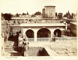 Image is loading Excellent-Rome-Palace-of-the-Caesars-Large-vintage- 0b0b892ab75