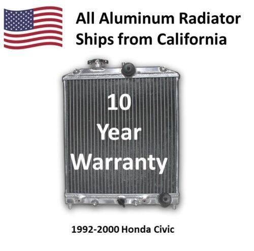 Radiator for 1992-2000 Honda Civic AT HPR401