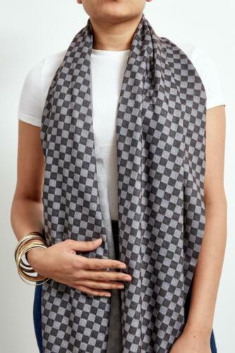 La nouvelle Inspiration Designer Cachemire écharpe en gris