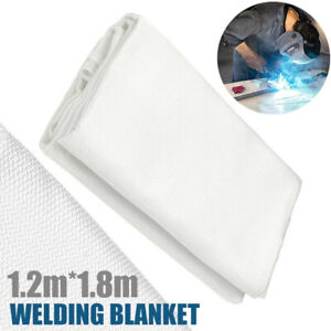 Welding Blanket 1.2m*1.8m Fire Flame Retardent Fiberglass Shield Safety Shield